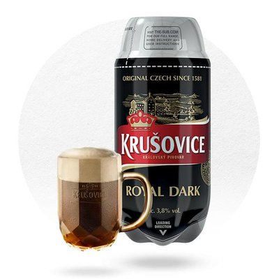 TORP® KRUSOVICE ROYAL DARK PROMO (2L)