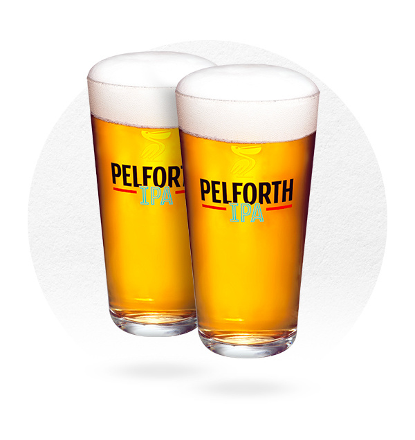 LOT DE 6 VERRES PELFORTH IPA 25 CL