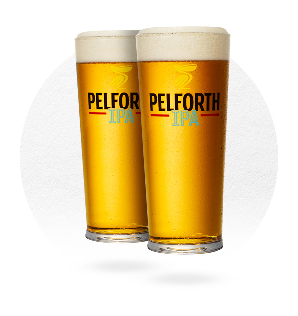LOT DE 6 VERRES PELFORTH IPA 50CL