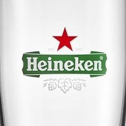 LOT DE 2 VERRES HEINEKEN STARGLASS 25 CL