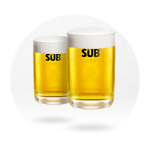LOT DE 4 VERRES THE SUB, BY MARC NEWSON