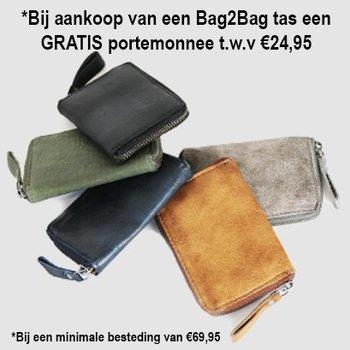 *GRATIS Bag2Bag portemonnee t.w.v €24,95
