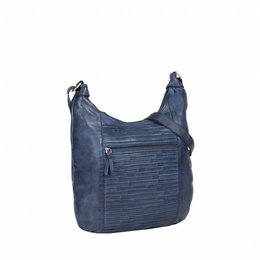 JUSTIFIED BAGS JUSTIFIED BAG CHANTAL BANANA BLAUW