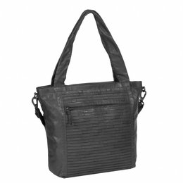 JUSTIFIED BAGS JUSTIFIED BAG CHANTAL SHOPPER ZWART