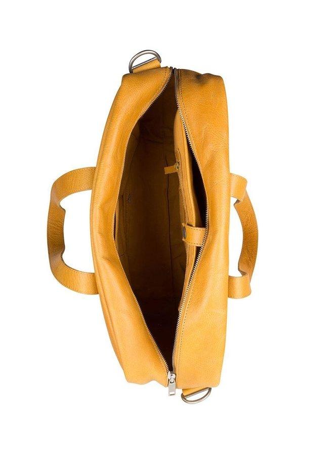COWBOYSBAG BAG KYLE 15 INCH GEEL