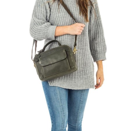 BURKELY BURKELY CRAFT CAILY CITYBAG GROEN