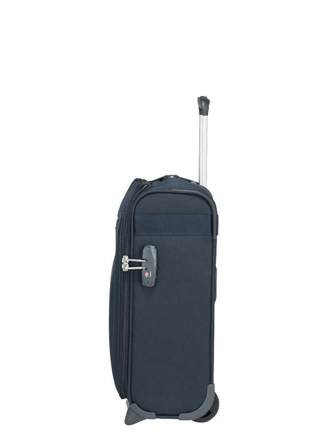 SAMSONITE CITYBEAT UPRIGHT 45 UNDERSEATER BLAUW