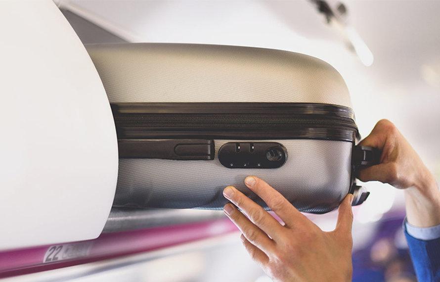 Maximale afmetingen handbagage