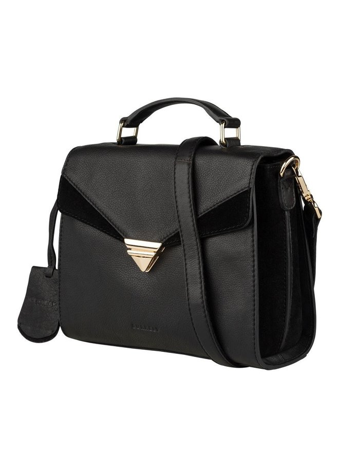 BURKELY SECRET SAGE CITYBAG ZWART