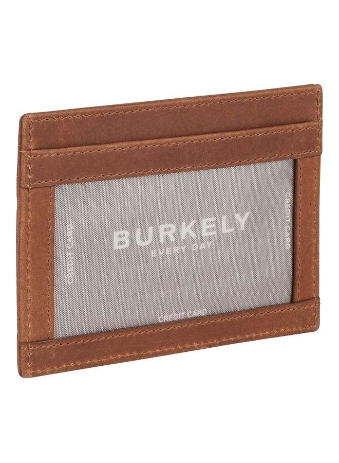 BURKELY CROCO CODY CC HOLDER BRUIN