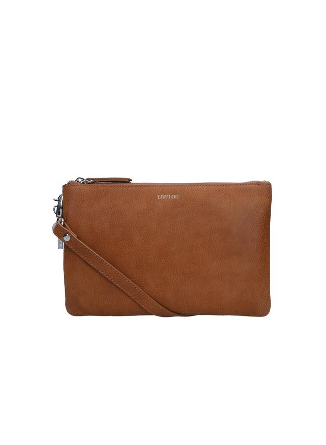 LOULOU ROBUSTE CLUTCH M BRUIN