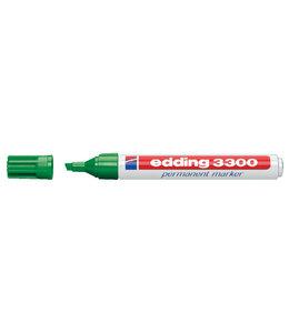 edding VILTSTIFT 3300 SCHUIN GROEN 10STKS
