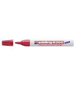 edding VILTSTIFT 8300 ROND ROOD 10STKS