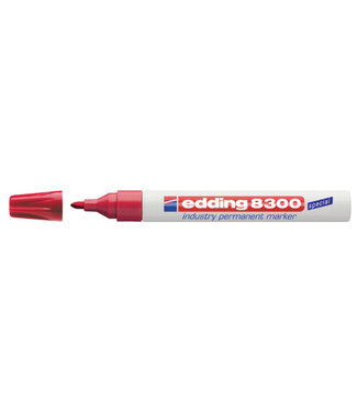 edding VILTSTIFT 8300 ROND ROOD