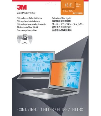 3M PRIVACY FILTER 13.3 WIDE 16:9