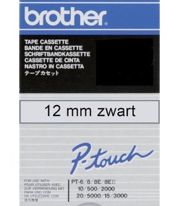Brother LABELTAPE TC--101 12MM TR/ZW