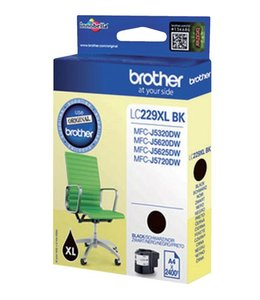 Brother INKCARTRIDGE LC-229XL ZWART