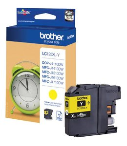 Brother INKCARTRIDGE LC-125XL GEEL
