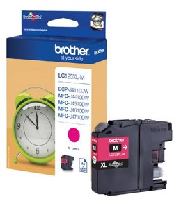 Brother INKCARTRIDGE LC-125XL ROOD