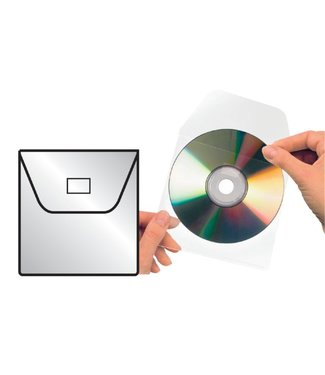 3L CD HOES 127X127MM KLEP 25STKS