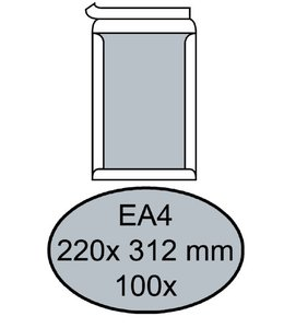 Quantore ENV BORDRUG EA4 ZK WT 100STKS