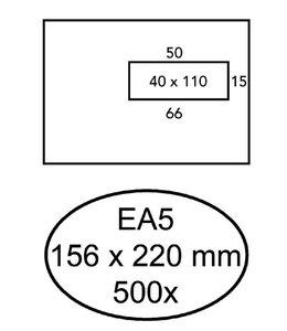 Quantore ENV VENSTER EA5 VR WT 500STKS