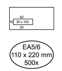 Quantore ENV VENST EA5/6 VL ZK WT 500STKS