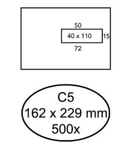 Quantore ENV VENSTER C5 VR ZK WT 500STKS