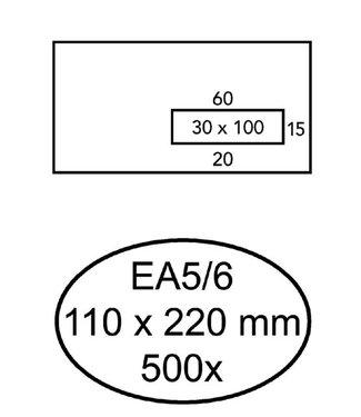 Quantore ENV  VENSTER VR C5/6 ZK 50STKS
