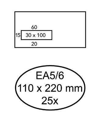 Quantore ENV VENSTER VL EA5/6 ZK 25STKS