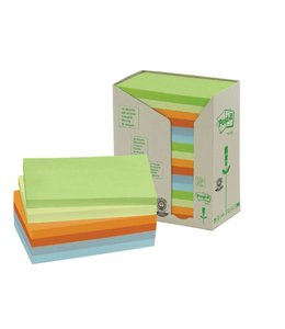 3M Post-it MEMOBLOK 655RECY 76X127 NAT 16STKS