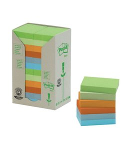 3M Post-it MEMOBLOK 653RECY 38X51 NAT 24STKS