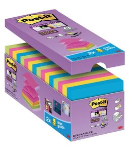 3M Post-it MEMOBLOK S330-16 76X76 ASS 16STKS