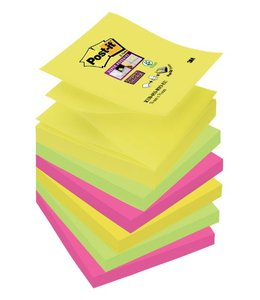 3M Post-it MEMOBLOK S330-6RO 76X76 RIO 6STKS
