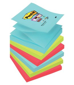 3M Post-it MEMOBLOK S330 STICKY MIAMI 6STKS
