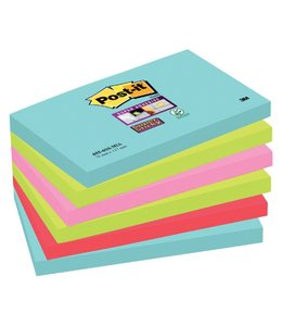 3M Post-it MEMOBLOK 655 STICKY MIAMI 6STKS