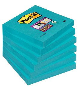 3M Post-it MEMOBLOK 654SSEB 76X76 BL