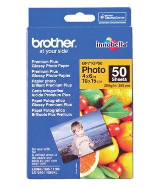 Brother FOTOPAPAPIER BP-71 10X15 260GR 50VEL