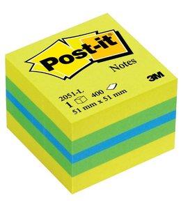 3M Post-it MEMOBLOK 2051L 51X51 LEM