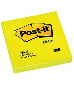 3M Post-it MEMOBLOK 654N 76X76 NE GL