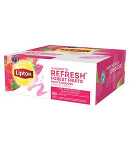 Lipton THEE REFRESH BOSVRUCHTEN 100STKS