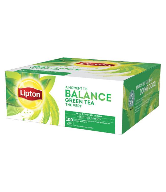 Lipton THEE BALANCE GROENE THEE 100STKS