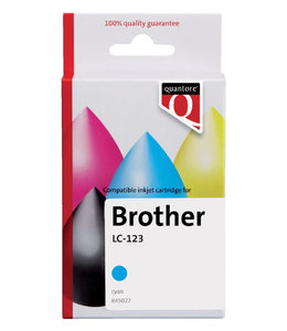 Quantore INKCARTRIDGE BRO LC-123 BL