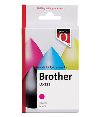 Quantore INKCARTRIDGE BRO LC-123 RD