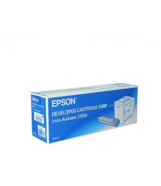 Epson C900 S050157 TONER CYAAN