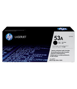 HP TONERCARTRIDGE 53A - Q7553A 3K ZW