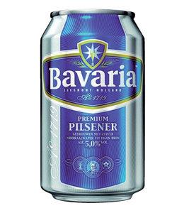 Bavaria BIER BLIK 0.33L 24STKS