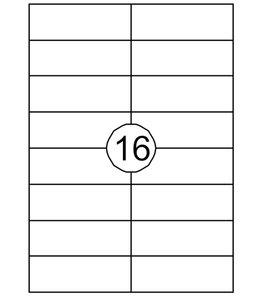 Quantore ETIKET 105X37 1600STKS