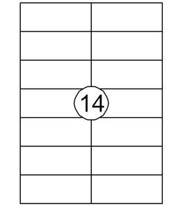 Quantore ETIKET  105X42.4 1400STKS