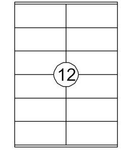 Quantore ETIKET  105X48 1200STKS
